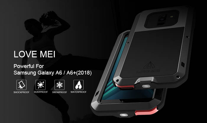 Love Mei Powerful Samsung Galaxy A6 2018 Protective Case
