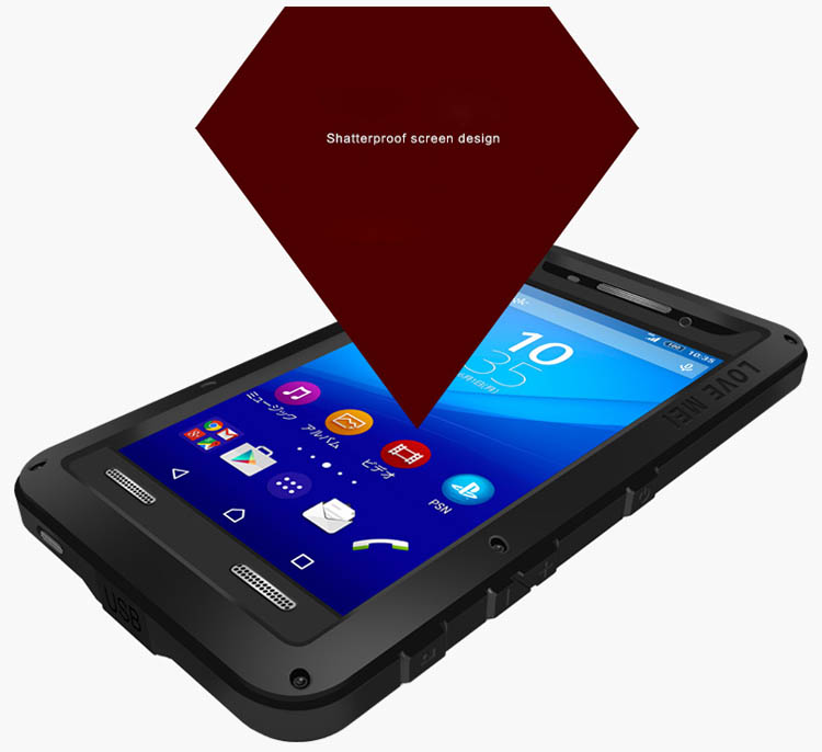 Love Mei Powerful Sony Xperia M5 Protective Case