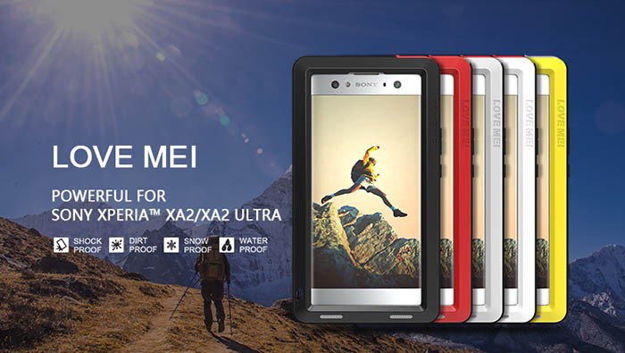 Love Mei Powerful Sony Xperia XA2 Protective Case