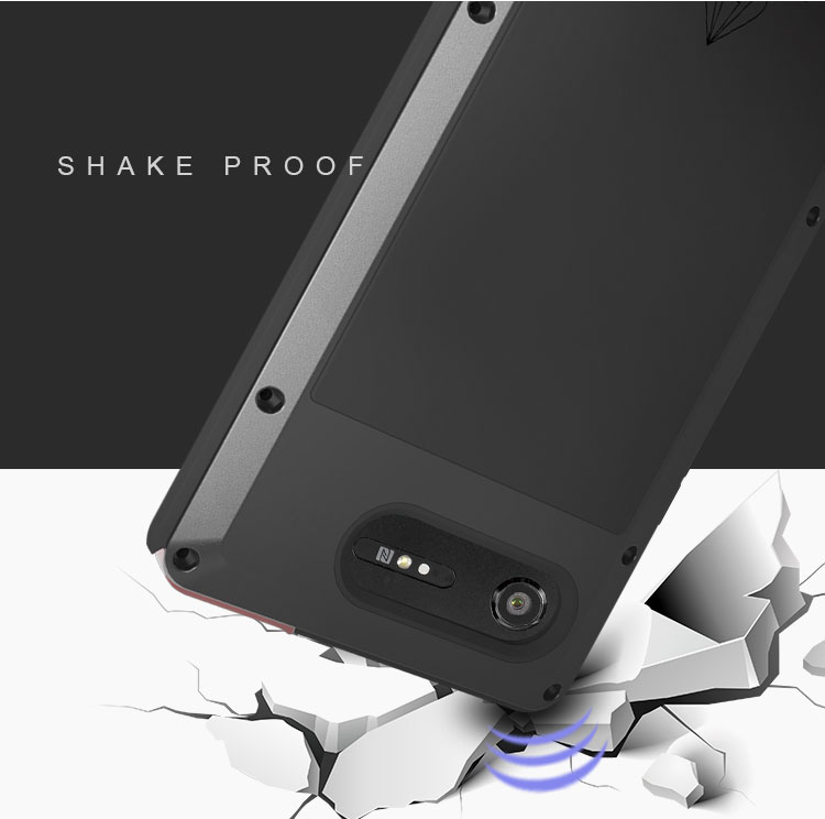 LOVE MEI Powerful Bumper Case For Sony Xperia XZ1 Compact