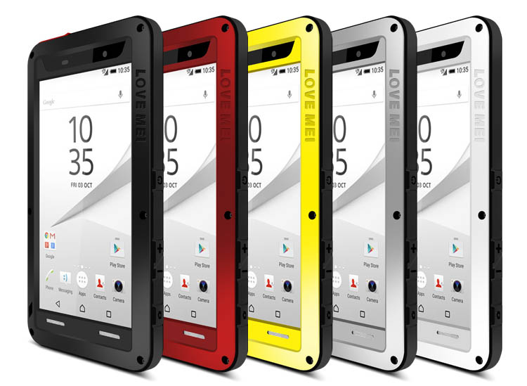 Love Mei Powerful Sony Xperia Z5 Compact Protective Case