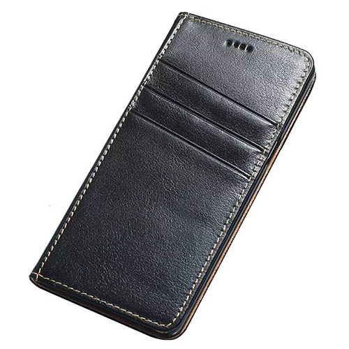 Real Genuine Cowhide Leather Samsung Galaxy Note 7 Slot Card Stand Case