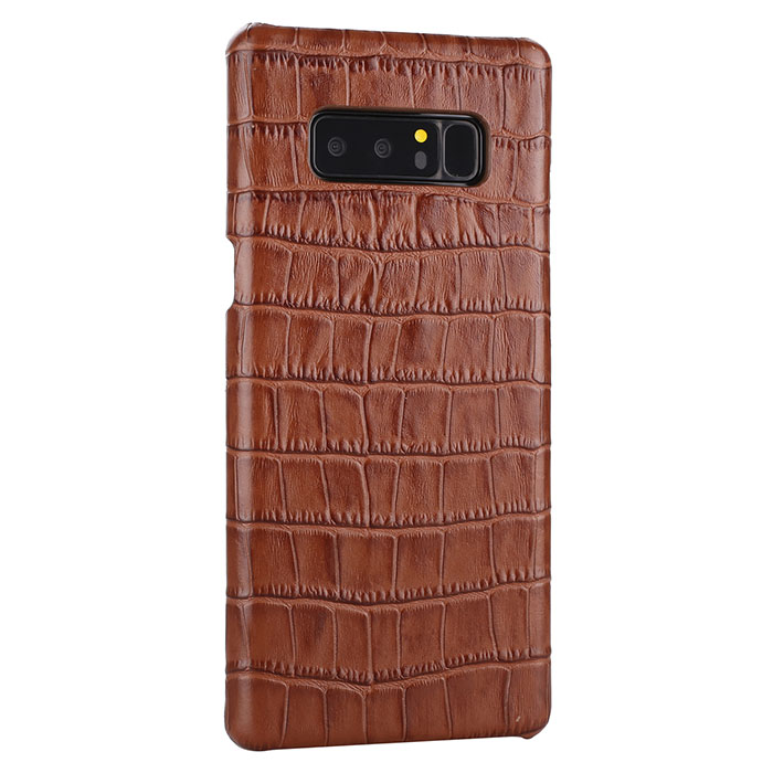 Samsung Galaxy Note 8 Genuine Leather Embossed Crocodile Back Cover Case