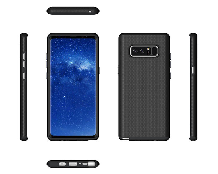 Samsung Galaxy Note 8 Rugged Anti-skid Hybrid PC + TPU Armor Protective Case