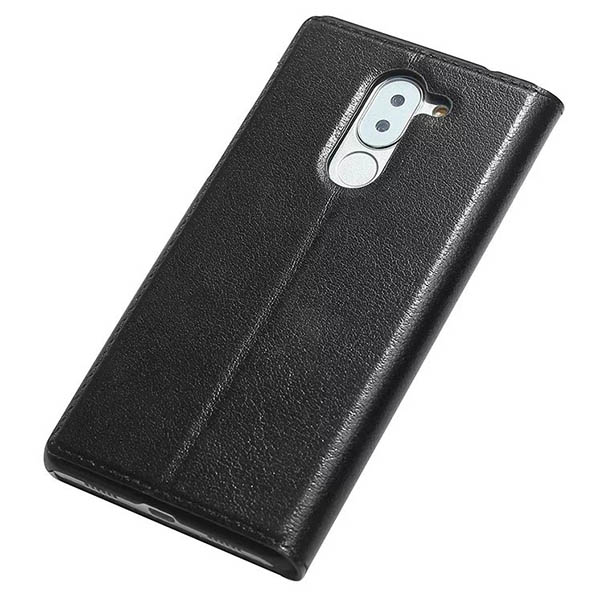 Window View HuaWei Honor 6X Ultra Thin Stand Genuine Leather Case