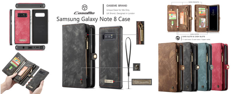 CaseMe Samsung Galaxy Note 8 Case