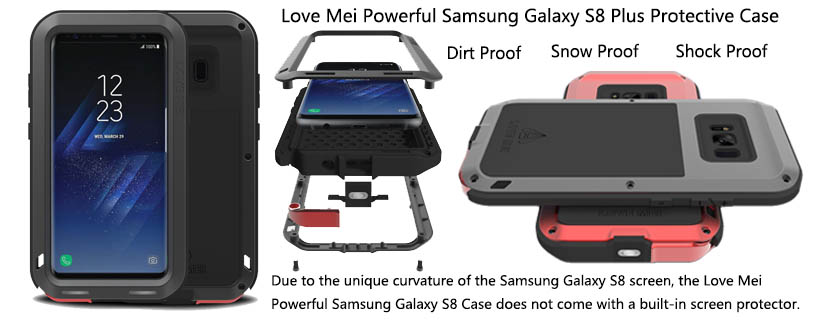 Love Mei Powerful Samsung Galaxy S8 Plus Case